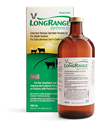 LongRange, an injection with extended release parasite control.